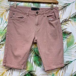 West 49 Slim Fit Bermuda Shorts
